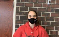 Kirsten Kilker, Junior. Track Athlete of the Month for throwing.