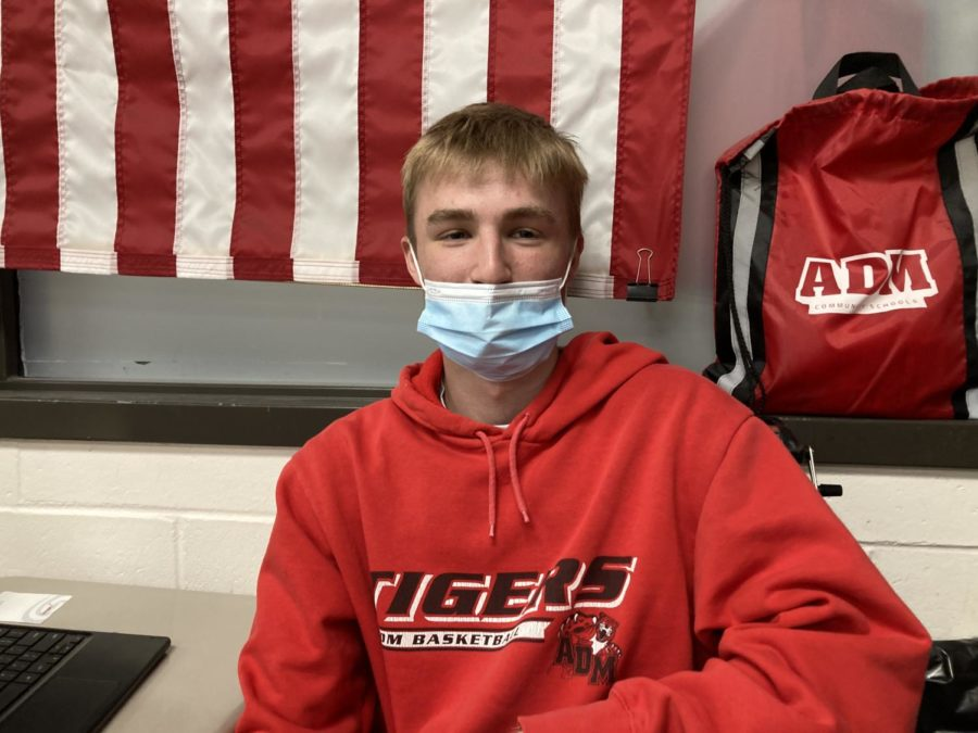 May Boys Track Athlete of the Month: Nate Mueller