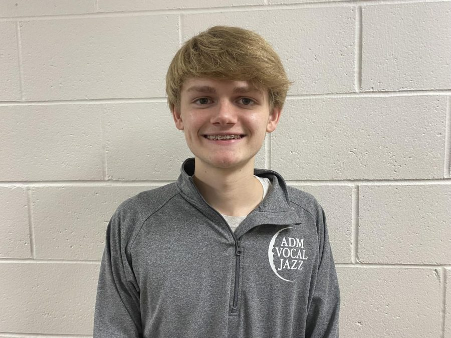 October's Fine Arts Student of the Month: Michael Payne